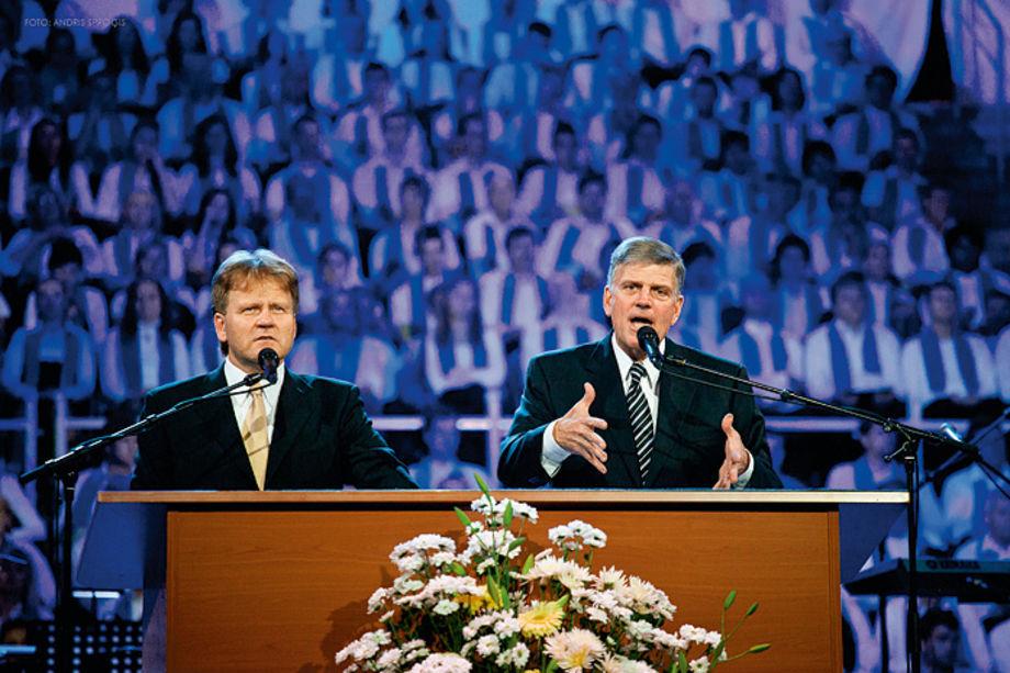 «Фестиваль надежды» —  самое масштабное в истории Латвии благовестническое мероприятие