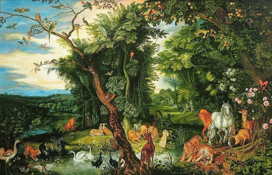 Как изобразить рай?