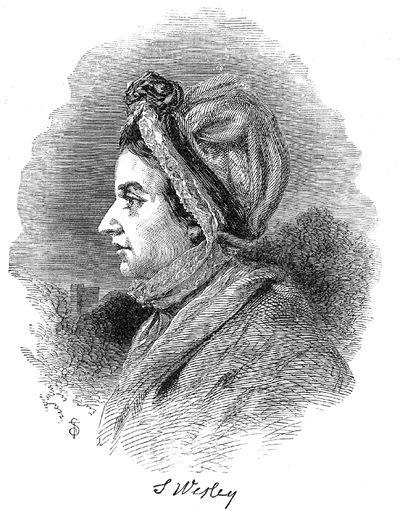 Сюзанна Уэсли —мать методизма