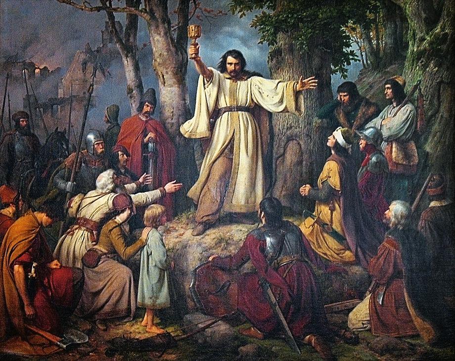 Ян Гус и Иероним Пражский —мученики и предтечи Реформации