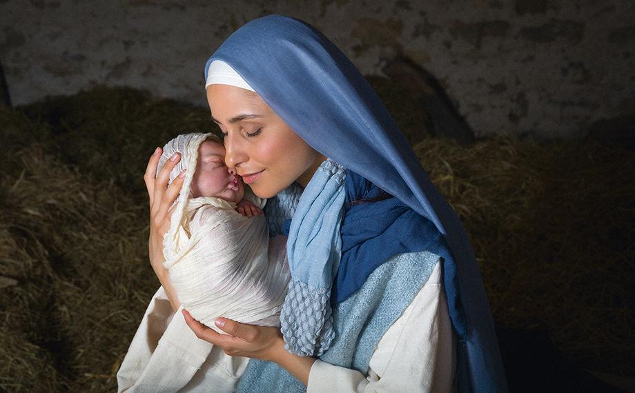Взгляд на младенца Иисуса