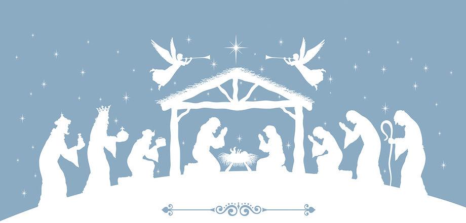 Был солон день морозом Рождества